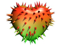 Prickly Hurt Heart